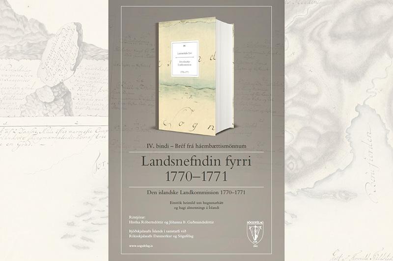 Fjórða bindi skjala Landsnefnarinnar fyrri 1770-1771.