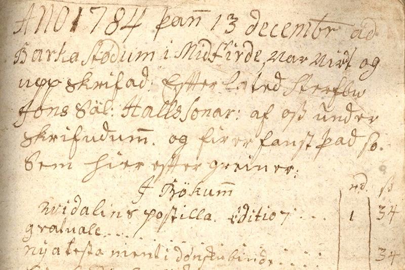 Dánarbú Jóns Hallssonar á Barkastöðum í Miðfirði.