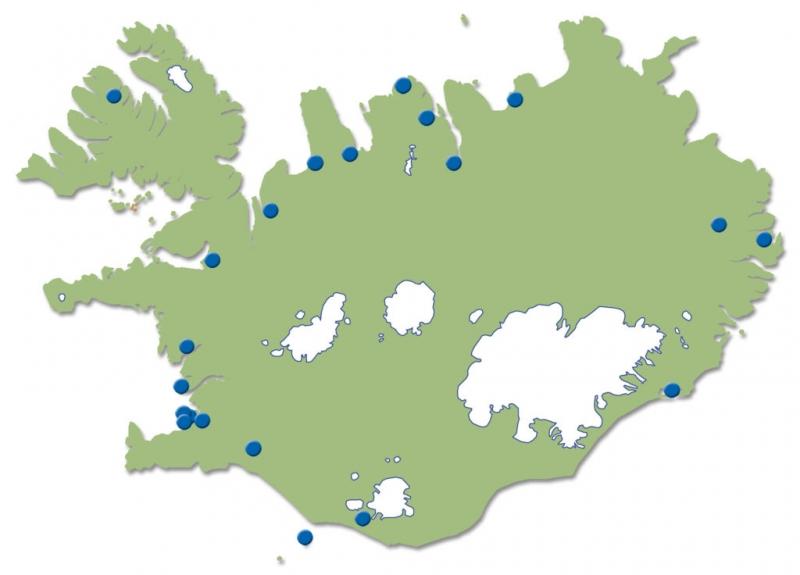Héraðsskjalasöfn á Íslandi.