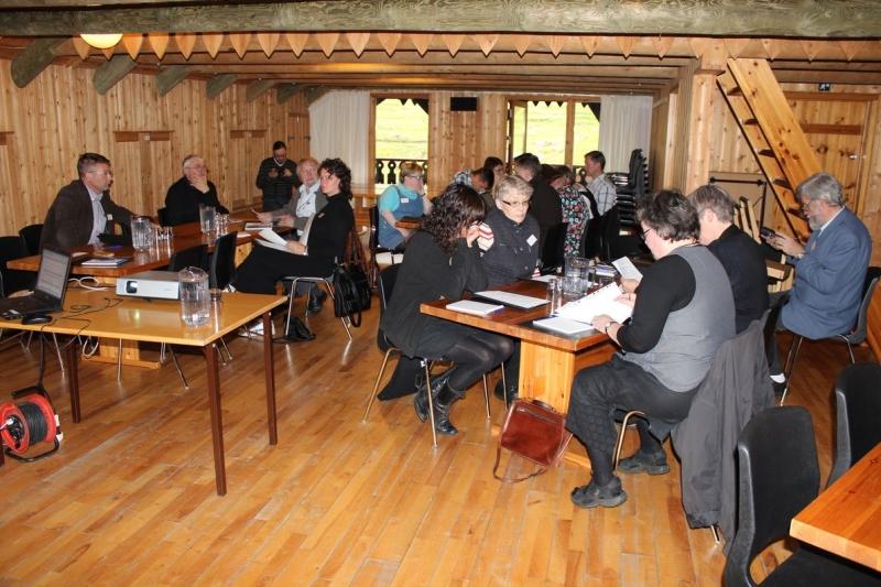 Fulltrúar á Vestnordiske arkivdage í Færeyjum árið 2011.