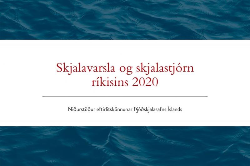 Skjalavarsla og skjalastjórn ríkisins 2020.