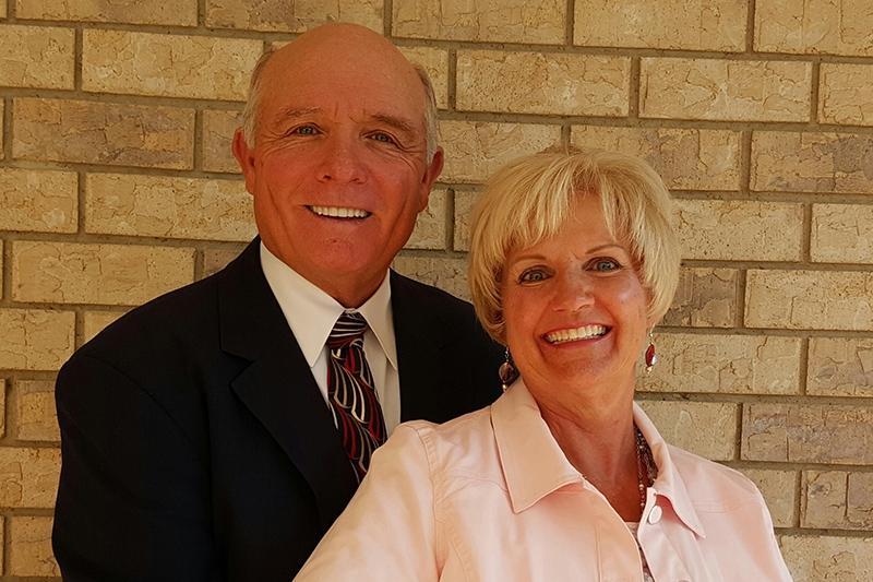 Terry M. Shepherd og Lillian Johnson Shepherd