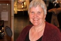 Hrefna Róbertsdóttir þjóðskjalavörður. Mynd: RÚV/Óðinn Jónsson.