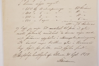 Bréf landfógeta 30. september 1874.