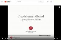 Myndbandarás Þjóðskjalasafns Íslands á YouTube