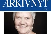 Forsíða Nordisk Arkivnyt (2. tbl. 2019).