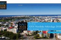 XXV. Nordiske Arkivdage 2018