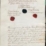 Vottorð forsvarsmanna á Akranesi um það að Þórður bjargaði tveimur mönnum úr sjávarháska í júní árið 1807