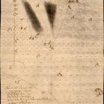 Uppdráttur af hverasvæðinu á Reykhólum í Barðastrandarsýslu 1754 eftir Magnús Ketilsson sýslumann í Dalasýslu