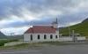 Súðavíkurkirkja. Myndin er tekin 11. júlí 2011. Ljósmynd Christian Bickel. Wikimedia Commons, https://commons.wikimedia.org/wiki/File:Su%C3%B0av%C3%ADk_Kirche_3.JPG.