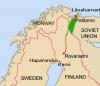 Petsamo var á þessum tíma hluti af Finnlandi, en tilheyrir núna Rússlandi.